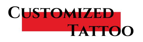 Customized Tattoo Logo